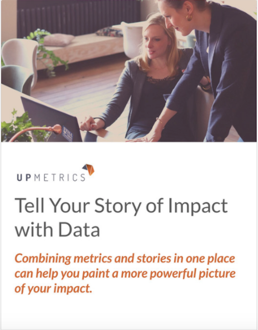 Tell Your Story of Impact with Data